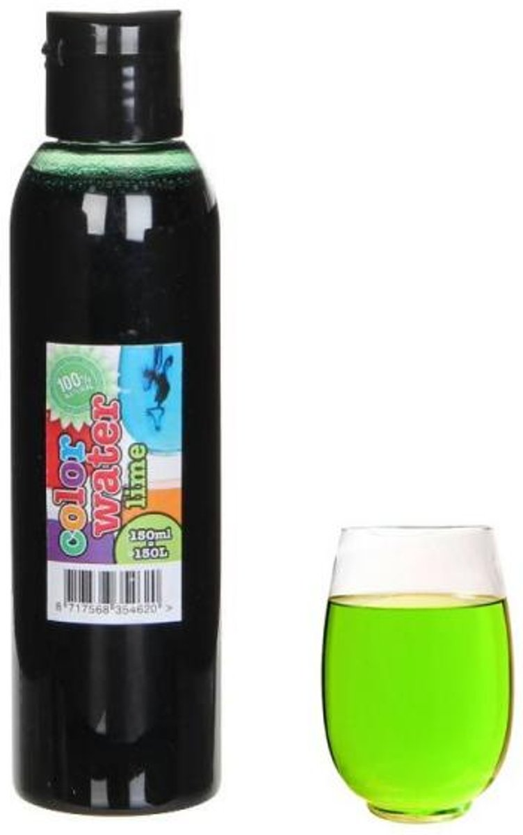Kleurstof 150 ml - limoen groen kopen