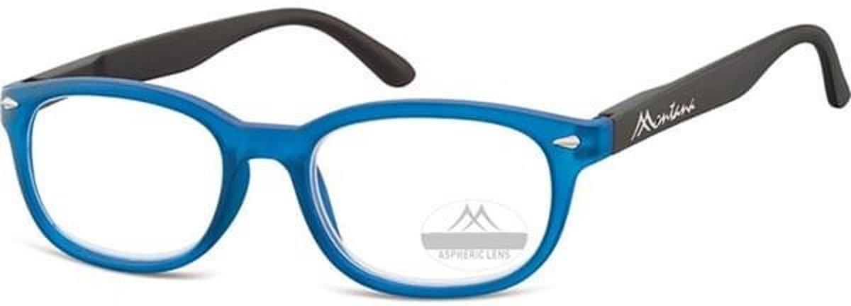 Montana Leesbril Rechthoekig Blauw Sterkte +3,50 (box70) kopen
