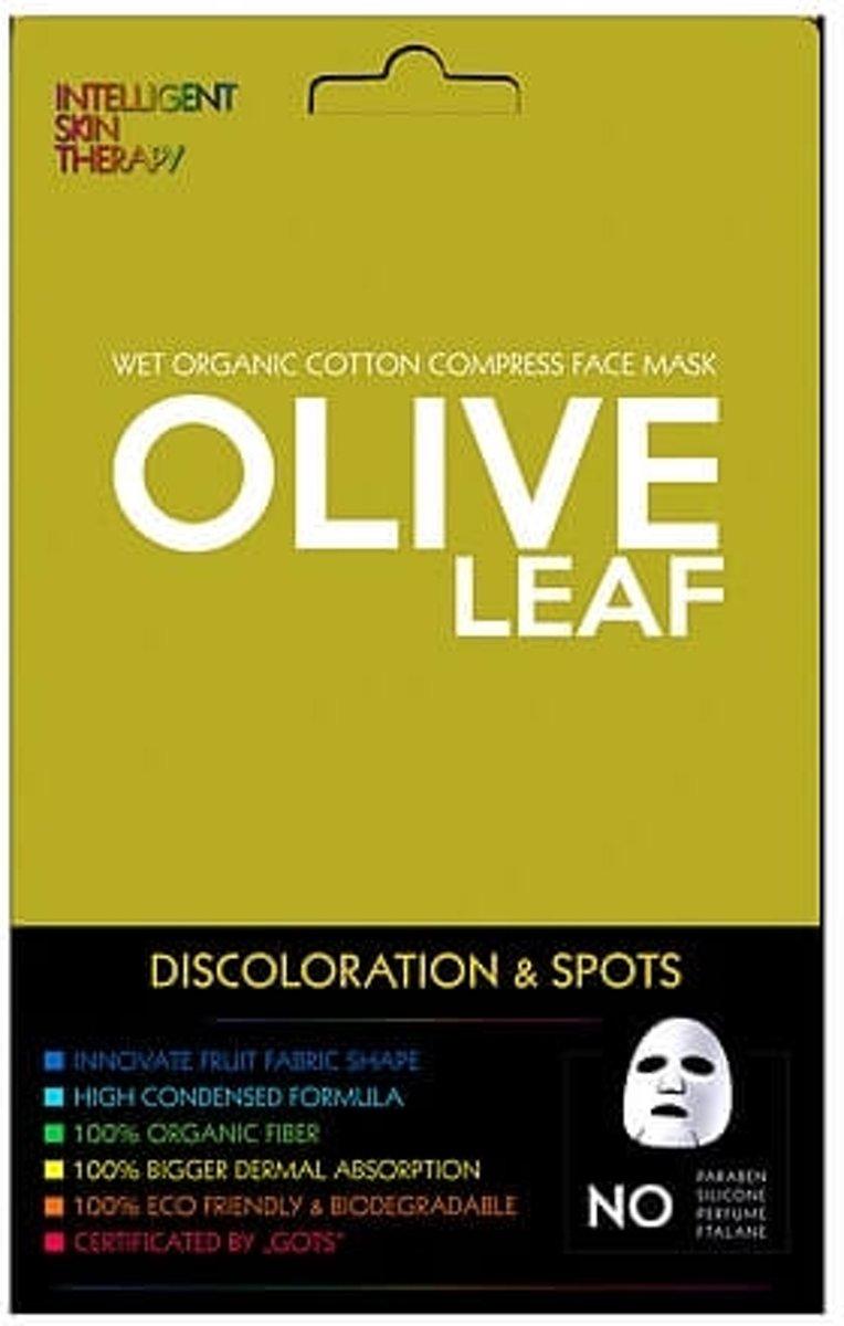 Foto van Intelligent Skin Face Mask Olive Leaf