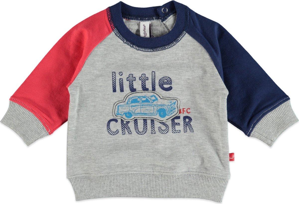 Babyface Unisex Sweater - Grijs - Maat 62