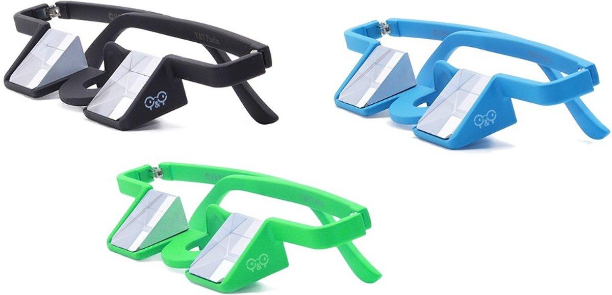 Y&Y Vertical Belay Plasfun zekerbril Zwart