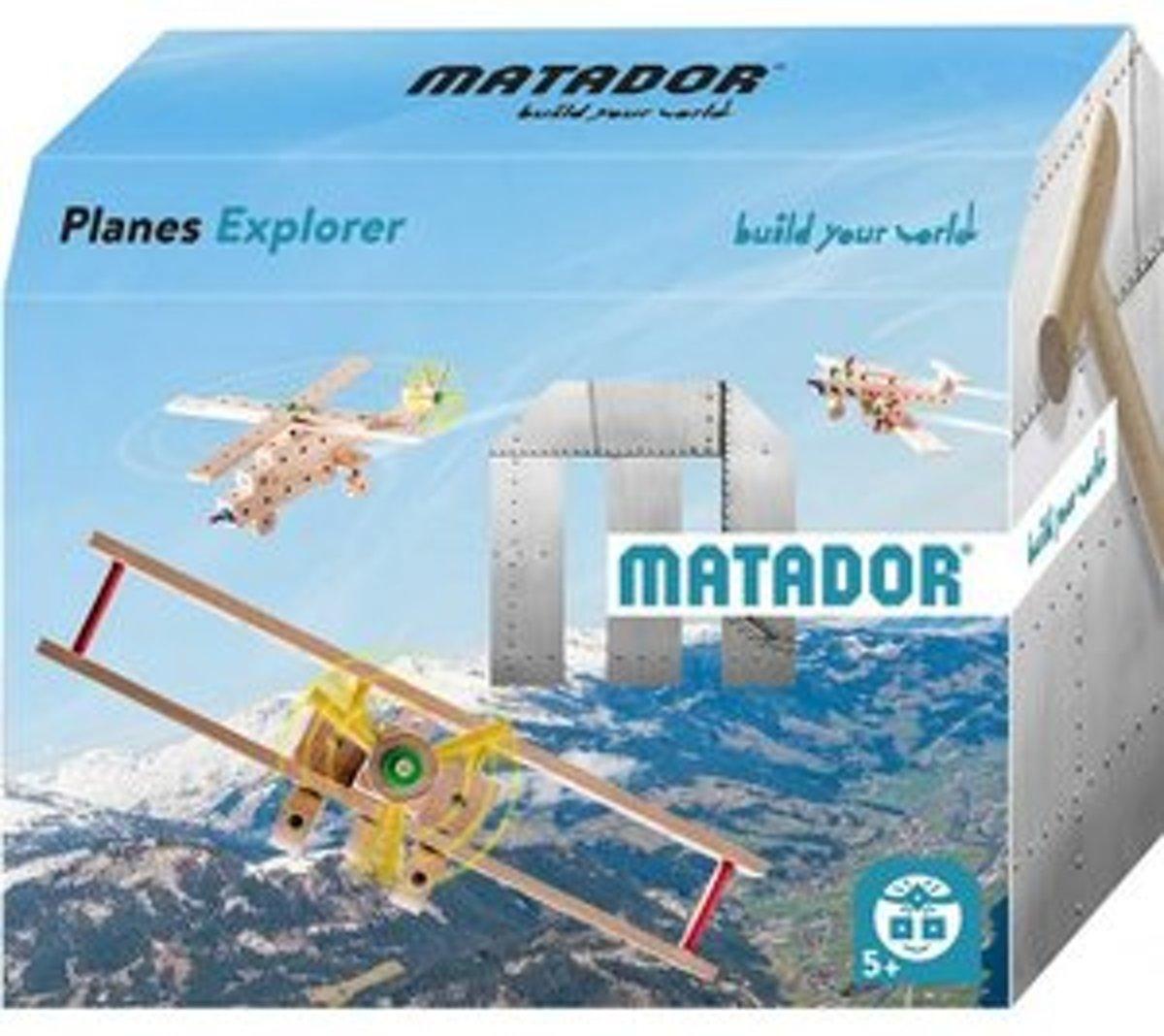 Matador Explorer 5+ Vliegtuigen Bouwdoos
