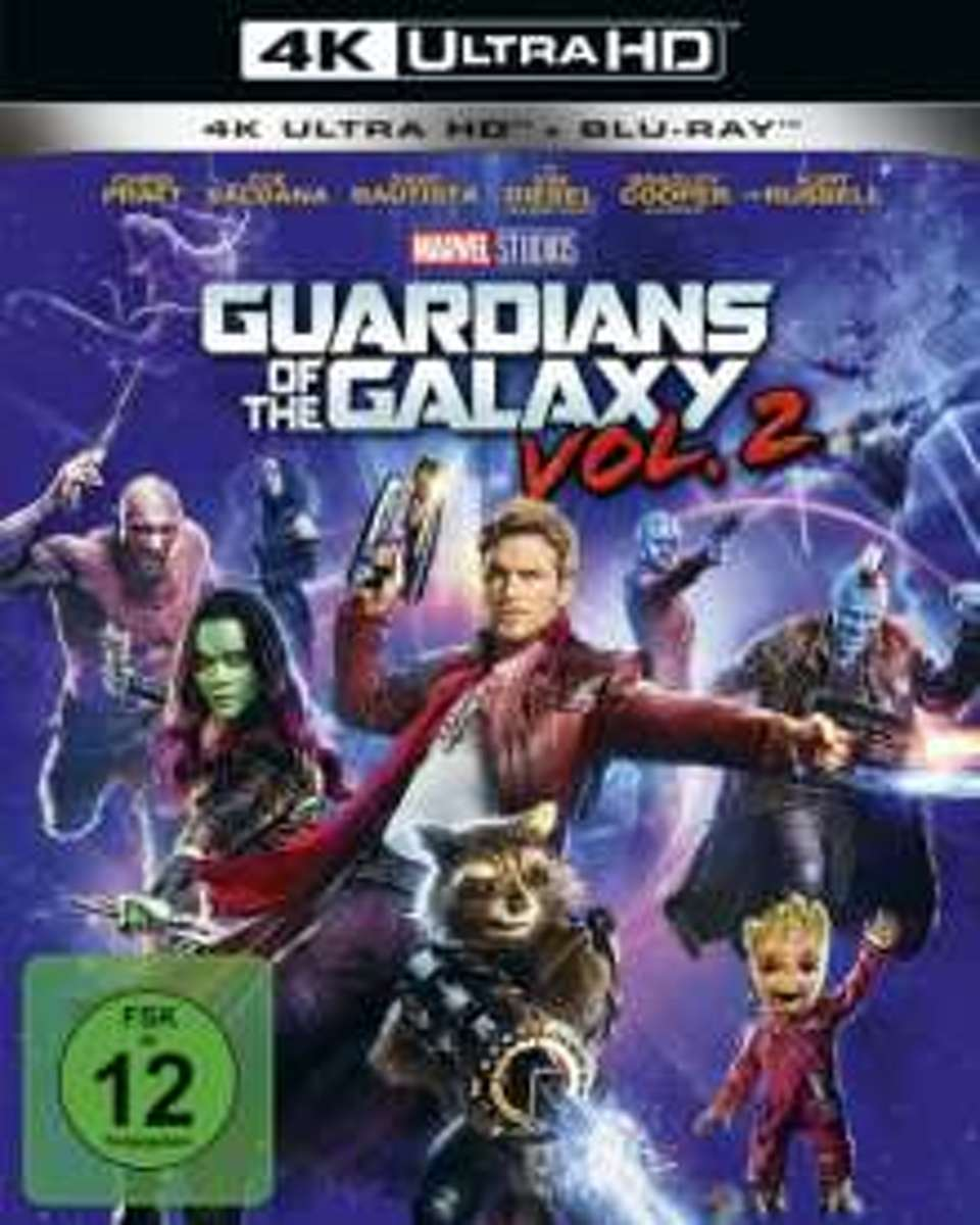 Guardians of the Galaxy Vol. 2 (Ultra HD Blu-ray & Blu-ray)-