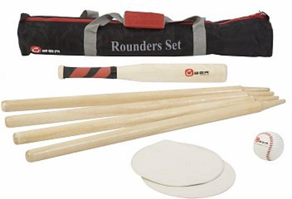 Rounder Set, Engels slagbal in handige transsporttas, Slagbalspel kopen