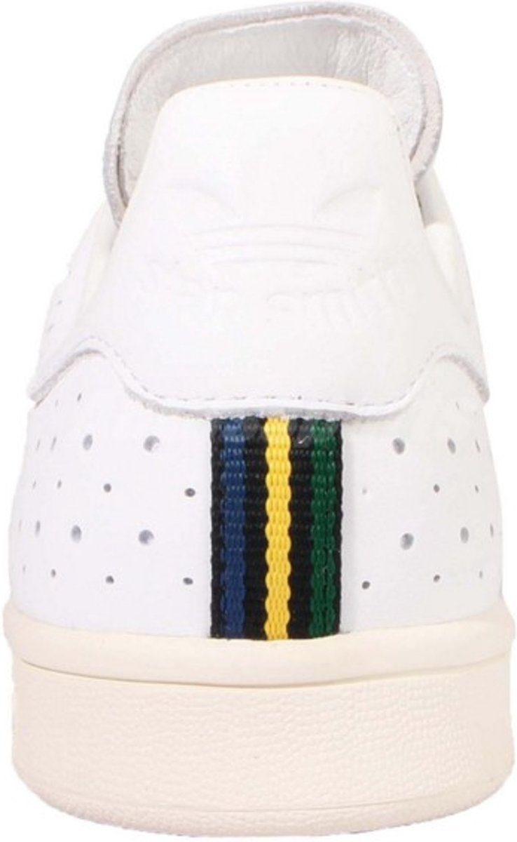 54a77bd44a5 bol.com | adidas Stan Smith - Sneakers - Heren - Wit - Maat 42 2/3