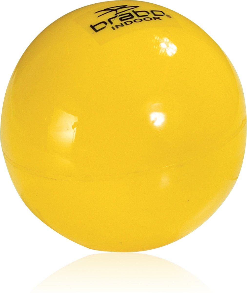 Brabo BB3030 Indoor - Zaalhockeybal - Geel kopen
