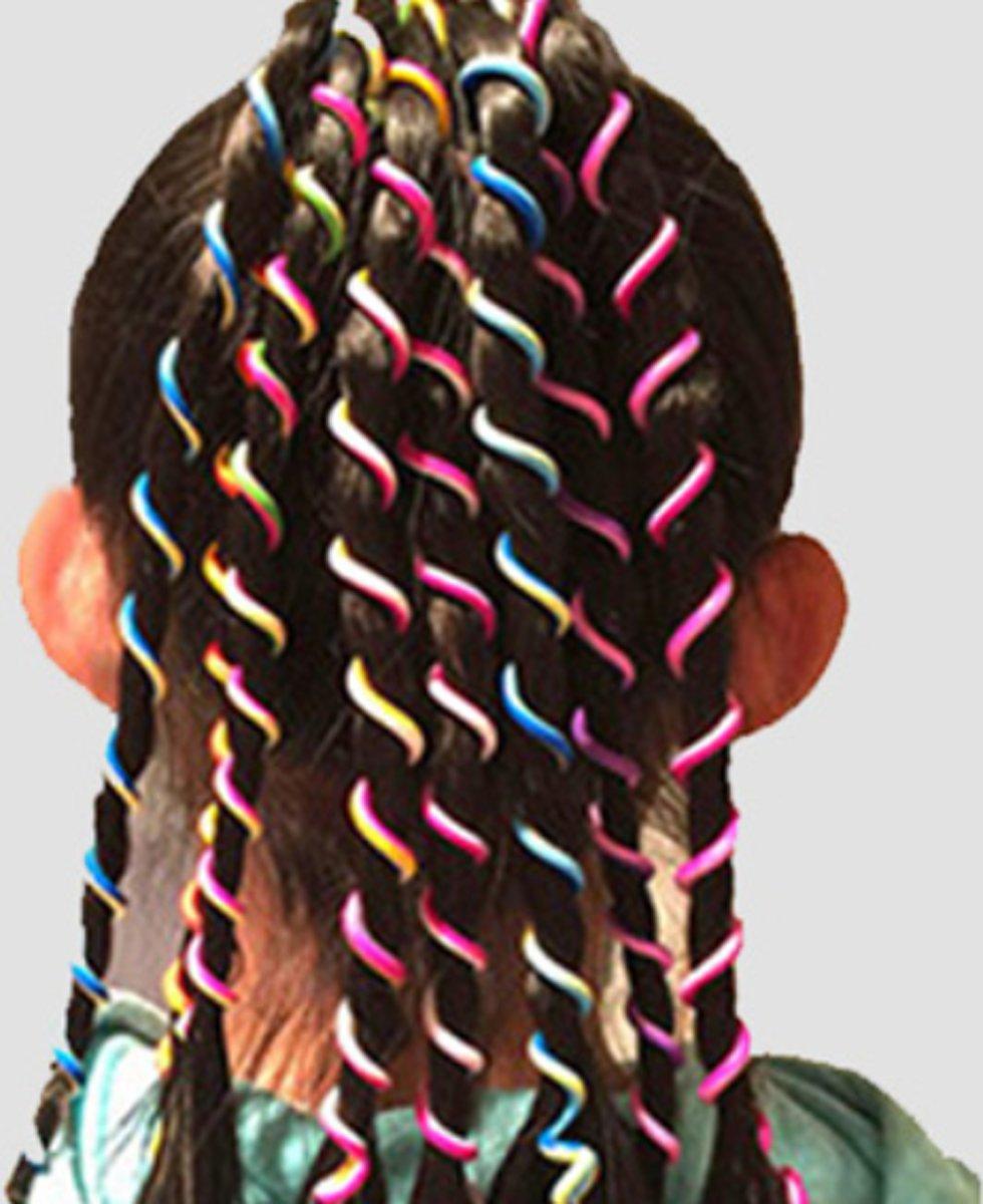 Haarversiering- 6 stuks- Roze- Twirl kopen