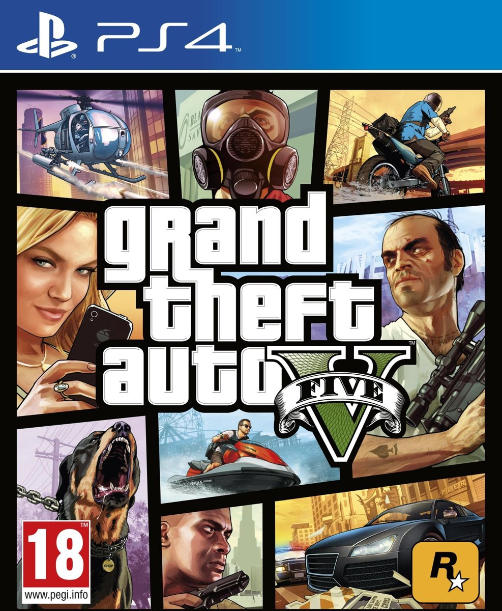 Grand Theft Auto V (GTA 5) PlayStation 4
