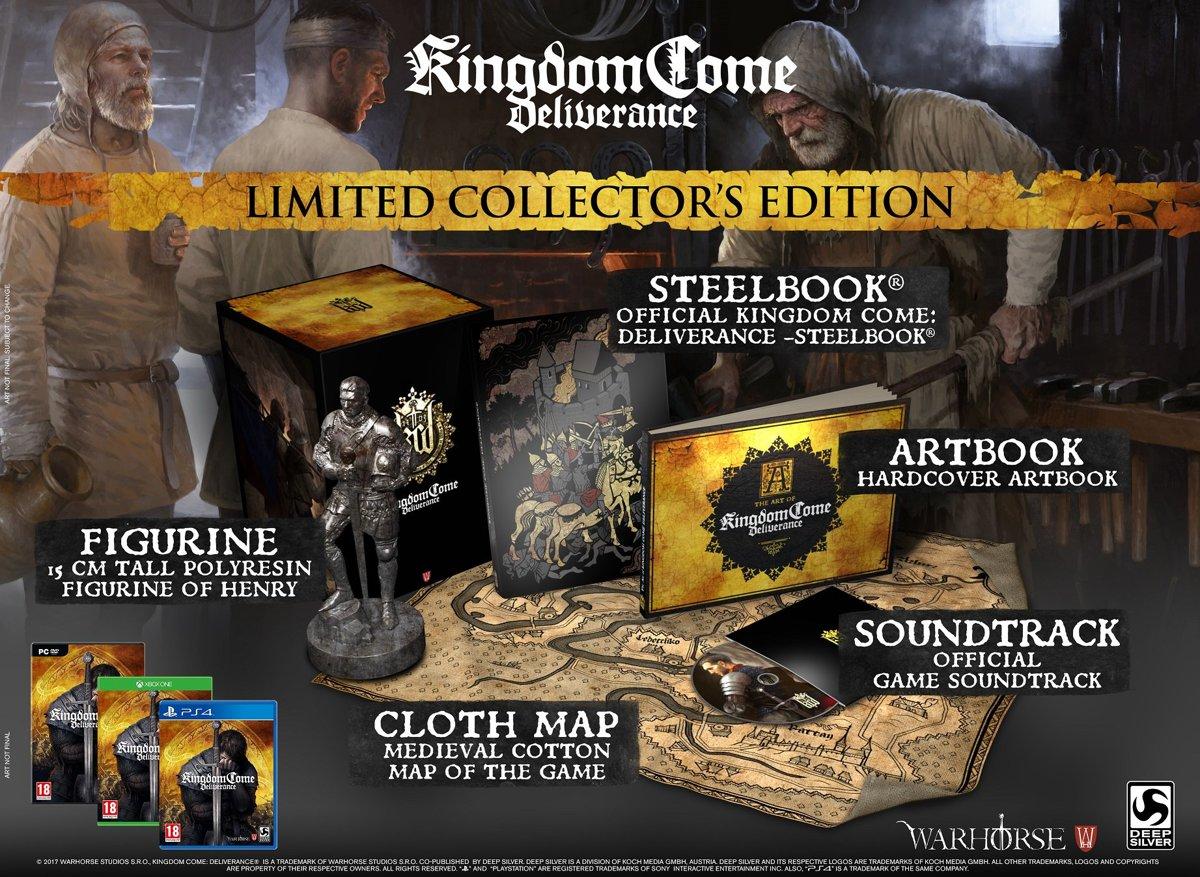 Kingdom Come: Deliverance Collector's Edition PlayStation 4