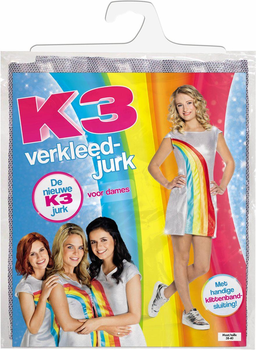 k3 kleedje volwassenen bestellen