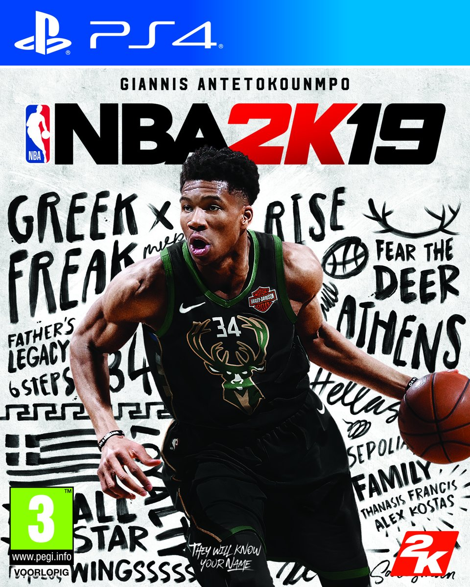 NBA 2K19 PlayStation 4