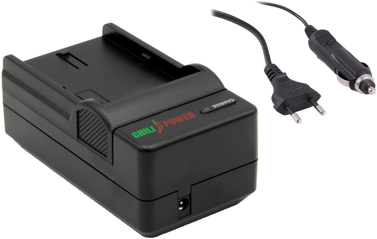 ChiliPower Canon NB-13L oplader - stopcontact en autolader