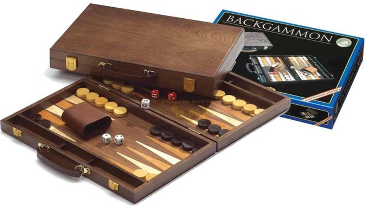 Backgammon Koffer - Syros Medium