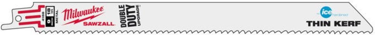 Milwaukee reciprozaagblad Thin Kerf Ice Edge 230mm (5st)