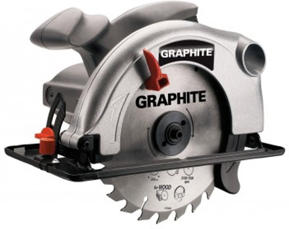 HAND CIRKELZAAG MACHINE 1200 Watt - GRAPHITE