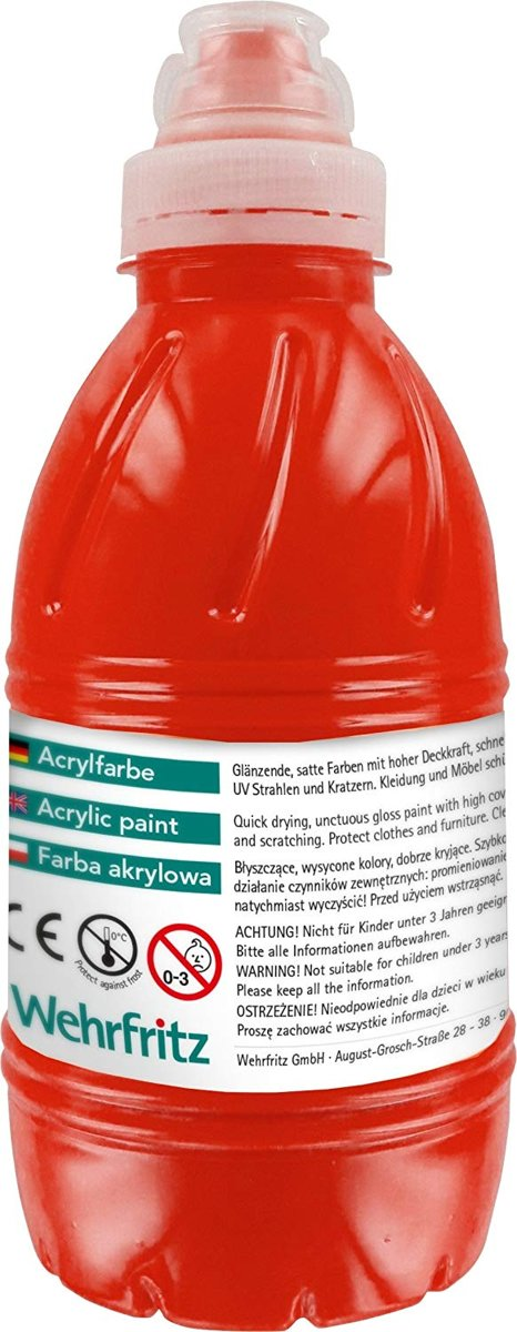 Haba Education - Acrylic Paint, red