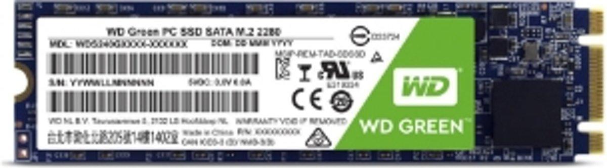 Western Digital WD Green internal solid state drive M.2 480 GB SATA III SLC
