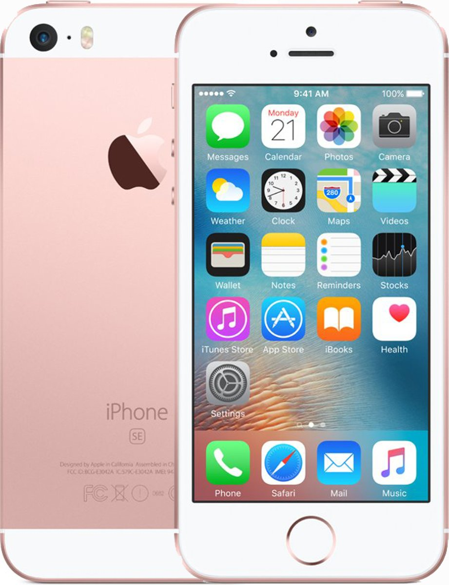 Apple iPhone SE - 32GB - Roségoud kopen