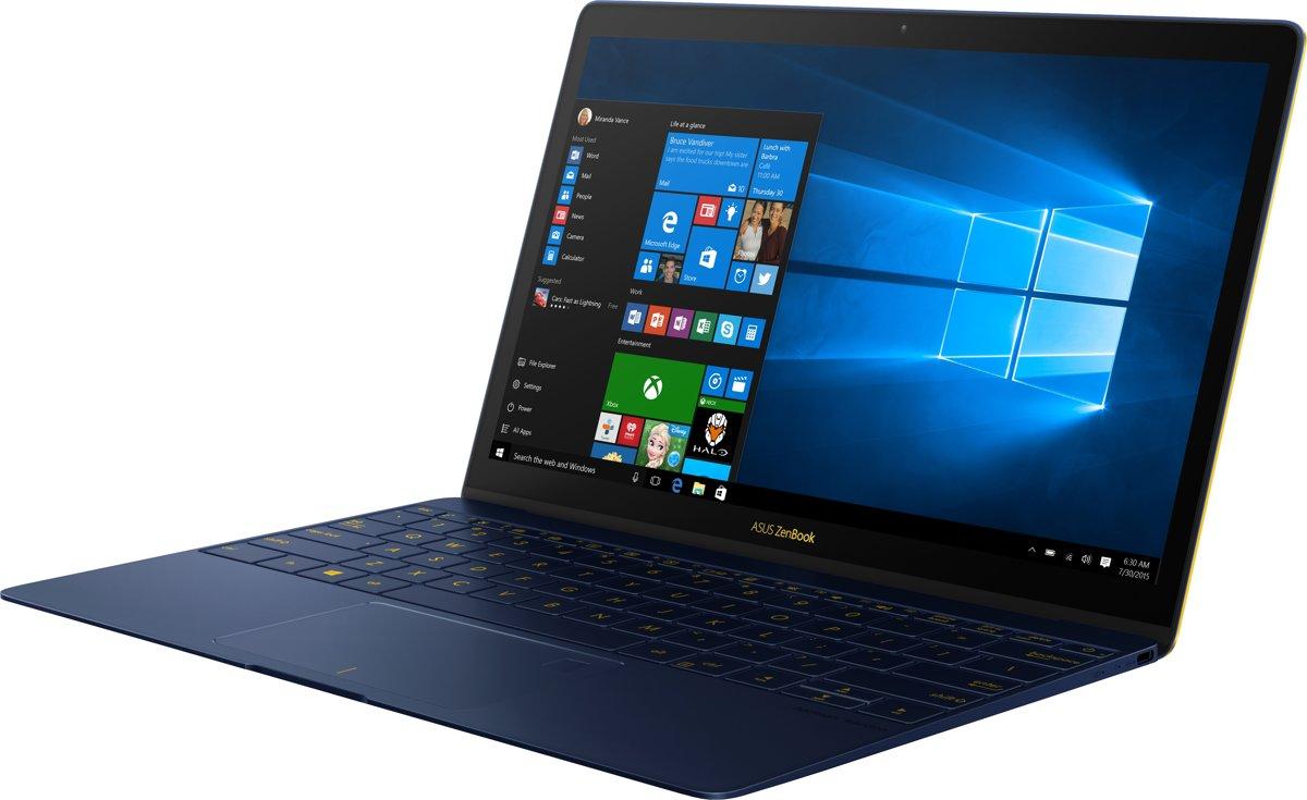 bolcom asus zenbook 3 ux390ua gs073t laptop 125 inch