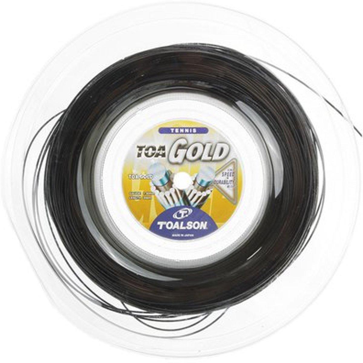 Toalson Toa Gold snaar 1.30 mm zwart kopen