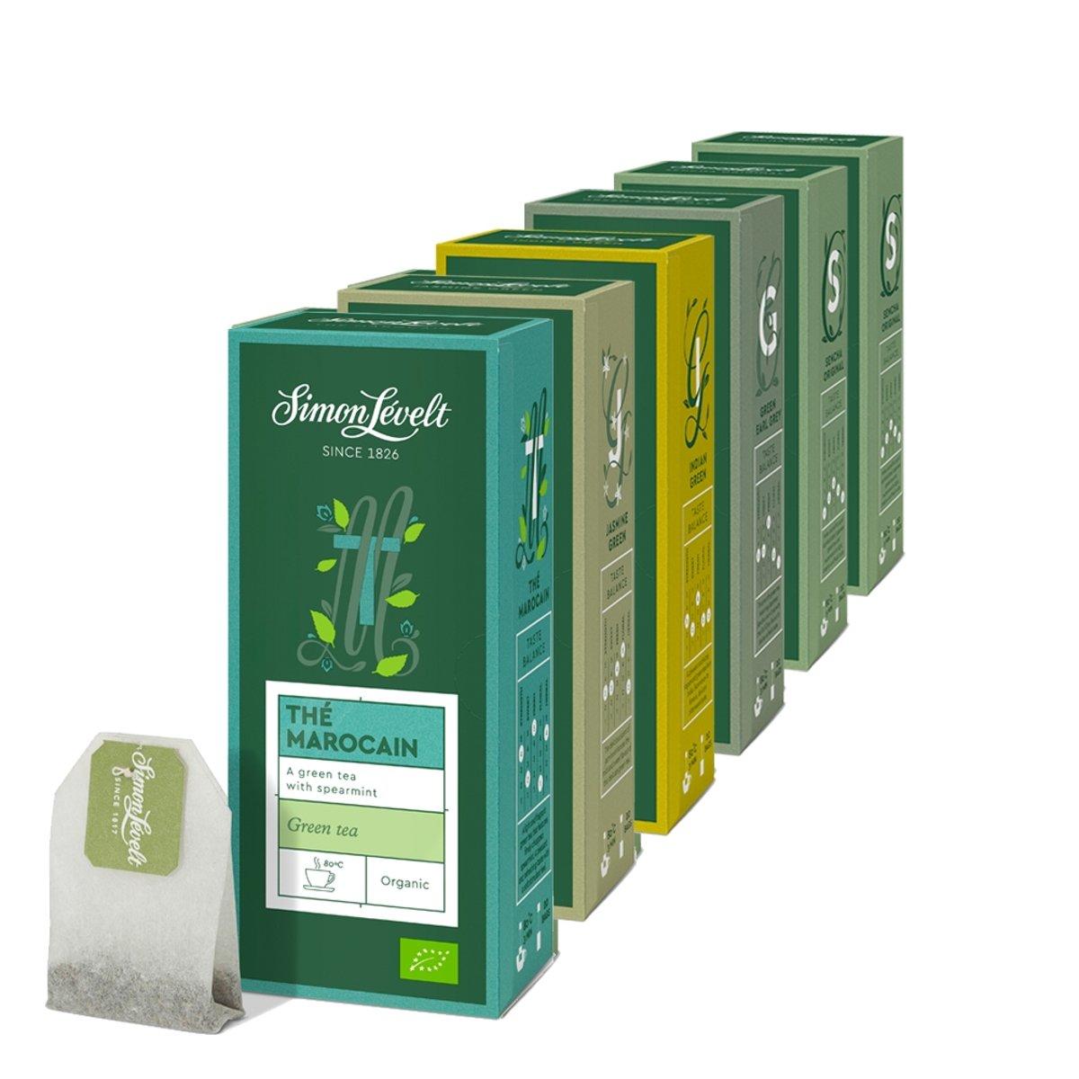 afslanken met groene thee