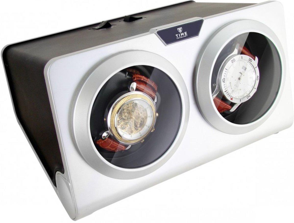 Time Tutelary dubbele Automatische Watchwinder / Horloge opwinder  KA002 - Zilver kopen