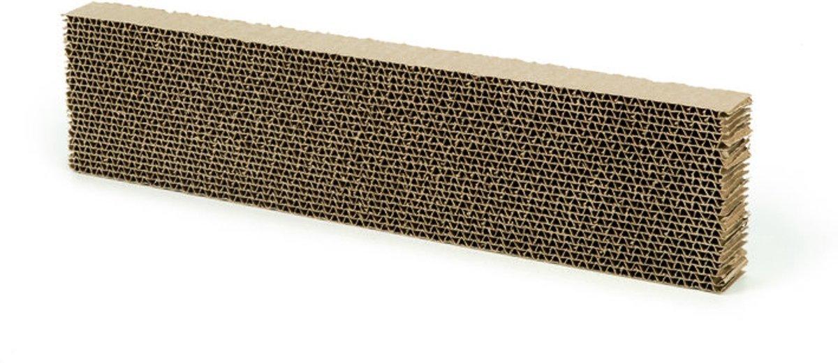 Beeztees Kartonnen Krabplank - Beige - 50 x 12.5 x 5.5 cm