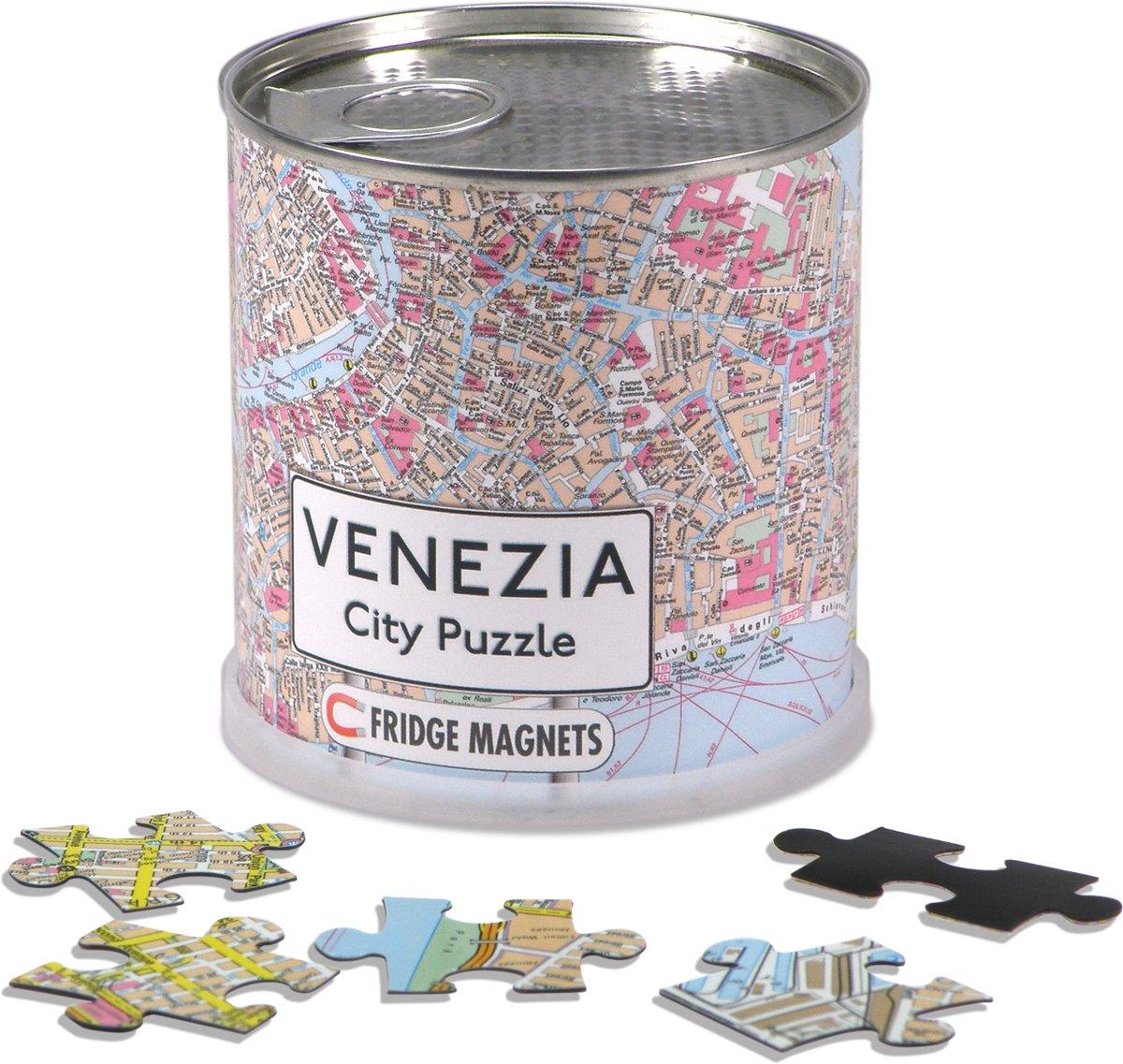 City Puzzle Venezia- Puzzel - Magnetisch - 100 puzzelstukjes