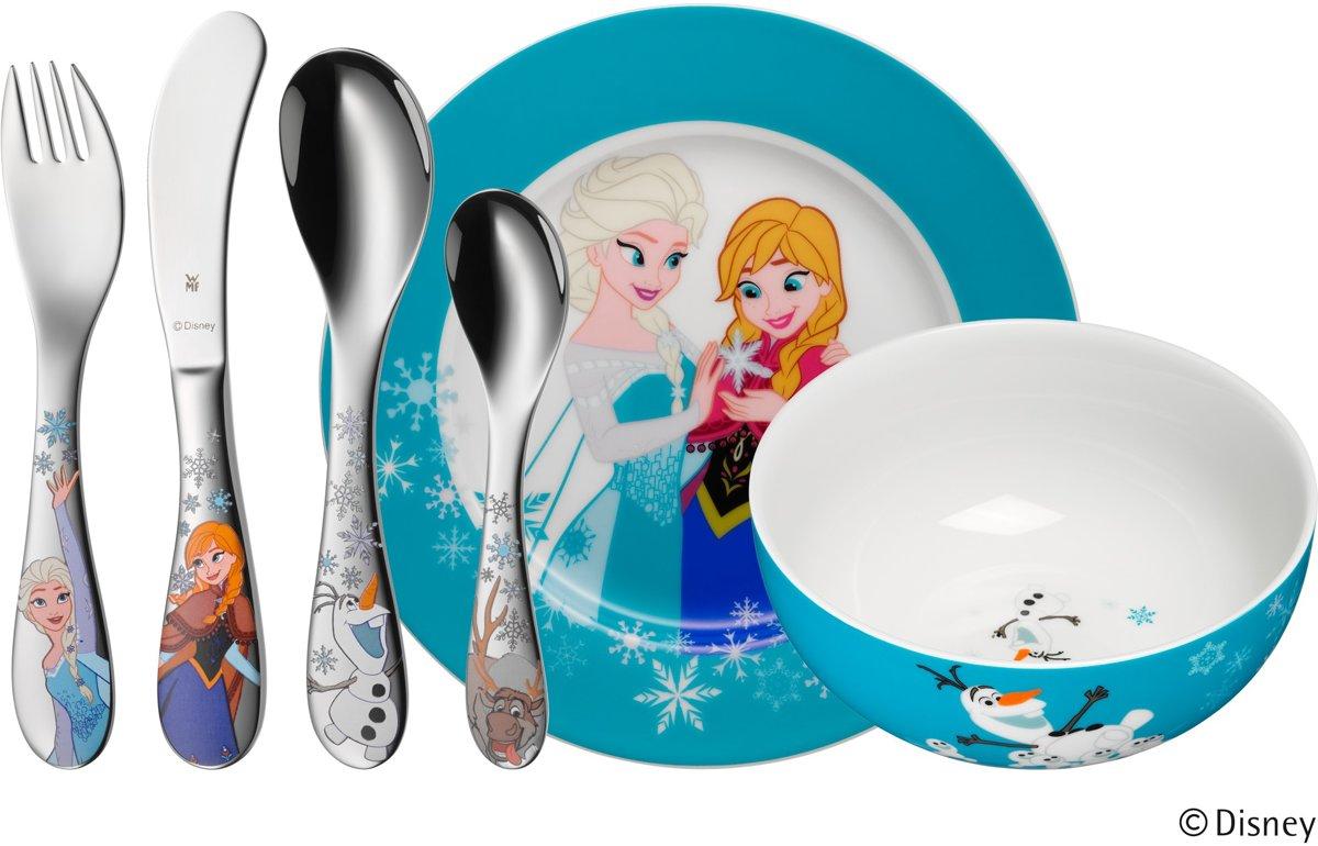 WMF Disney Frozen kinderbestek 6-delig