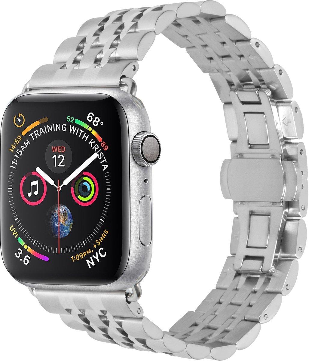 Zilver Stainless Steel bandje voor de Apple Watch 40 / 38 mm kopen