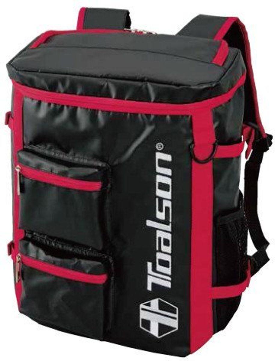 Toalson tennis rugzak zwart-rood kopen