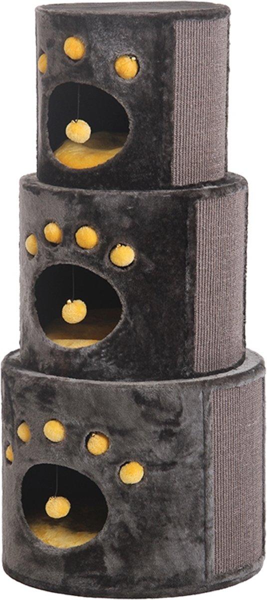 Nobby krabmeubel linsa stapelbaar bruin 54 x 54 x 115,5 - 1 st