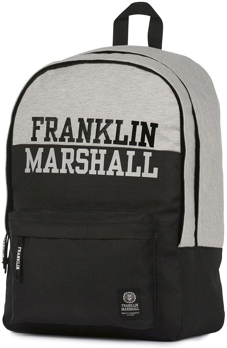 Rugzak Franklin & Marshall Boys zwart 43x30x18 cm kopen