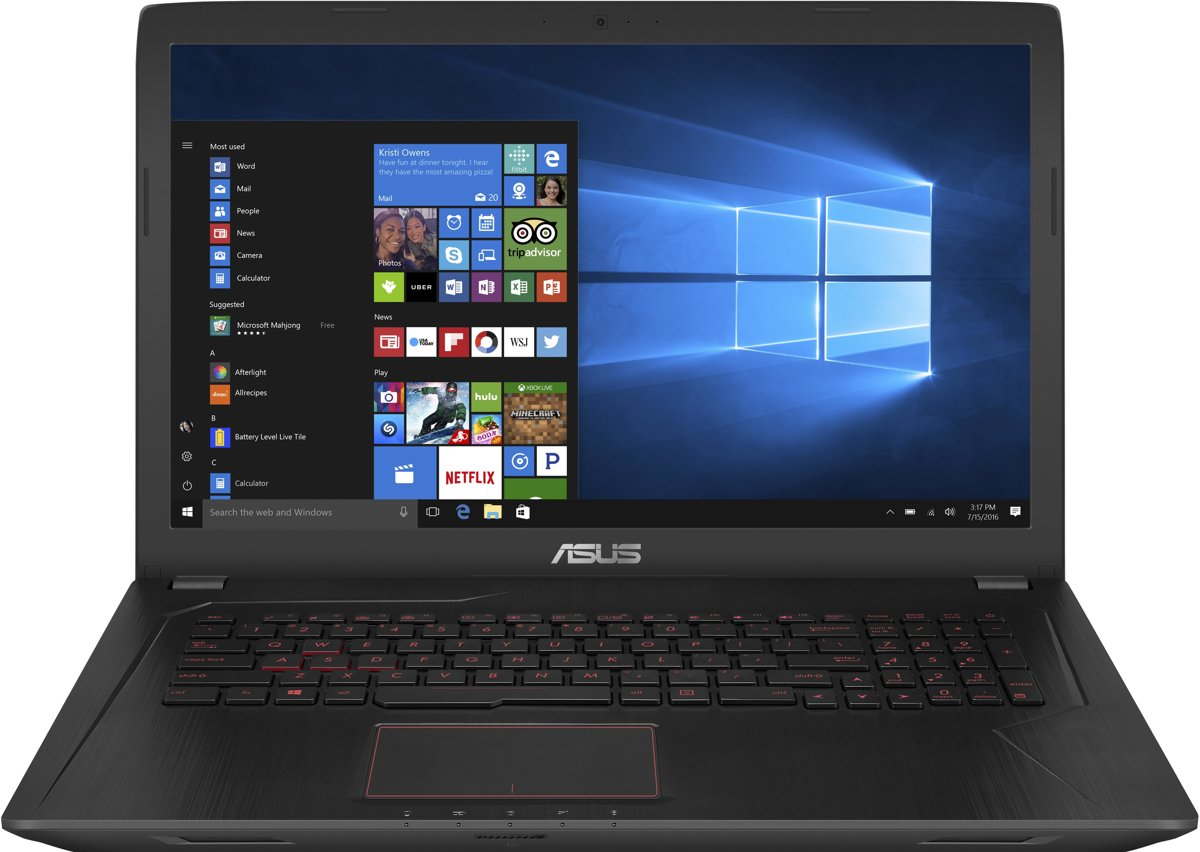 bolcom asus fx753vd gc171t gaming laptop 173 inch
