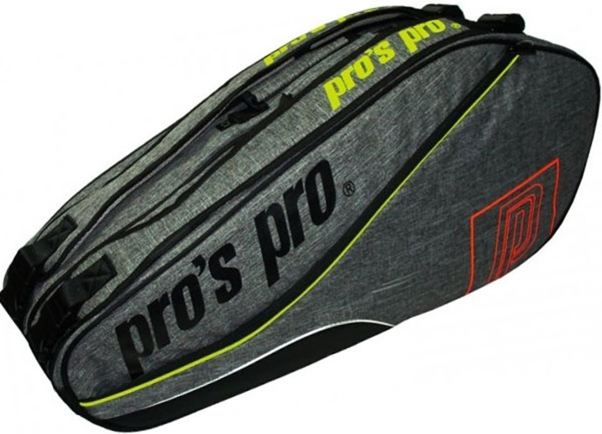 Pro's Pro Racketbag-8 graphite kopen