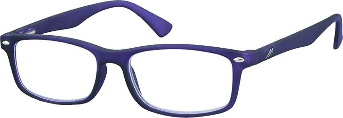 Montana Leesbril Unisex Rechthoekig Paars (mr83d) Sterkte +2.50 kopen