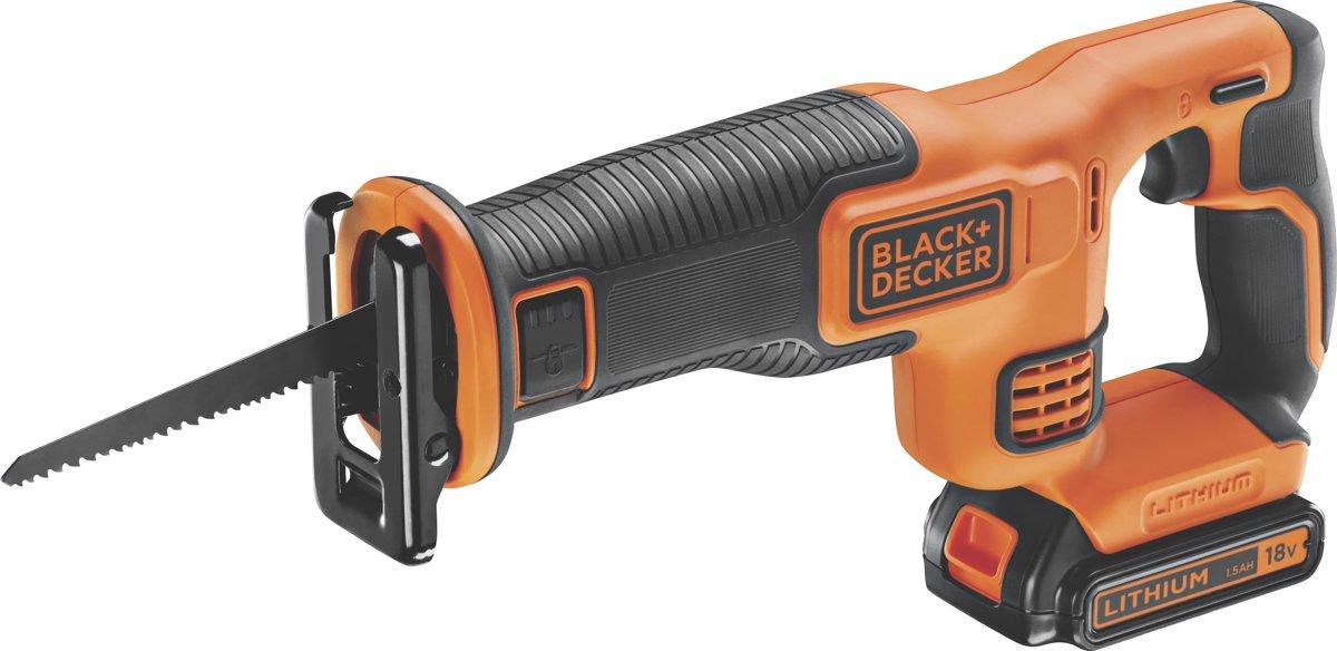 BLACK+DECKER - BDCR18-QW - 18V Reciprozaag met accu en lader