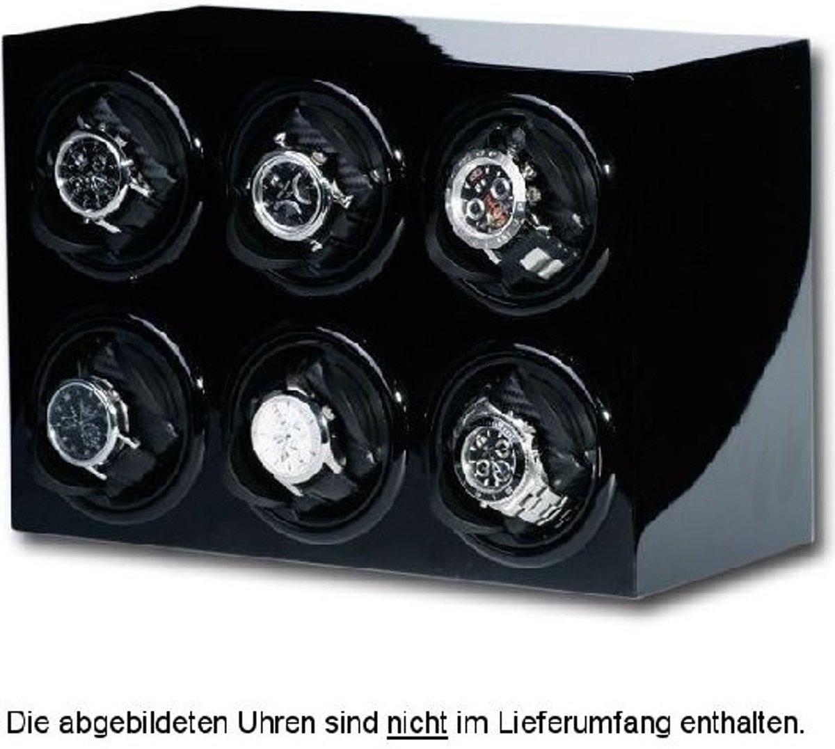 Portax Watchwinder Prismo 6 Uhren Klavierlack 1002375 kopen