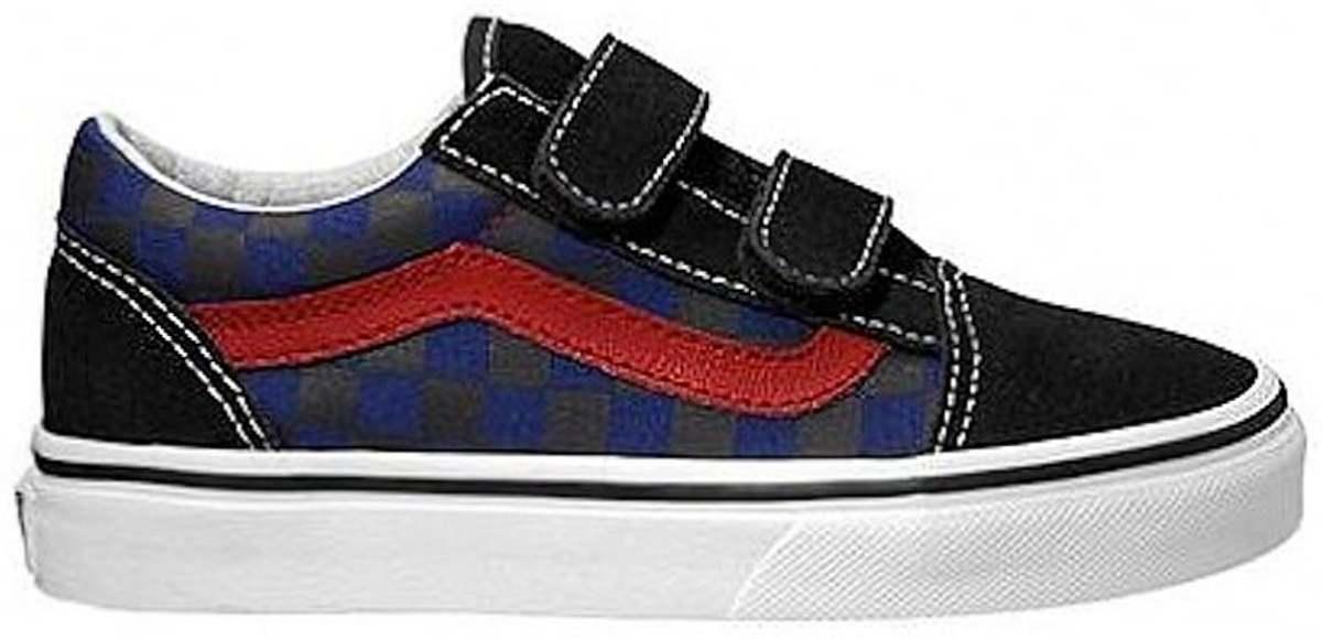 5a7bcbd0ac9 bol.com | Vans Old Skool Sneakers- Kinderen - Checkerboard - Maat 34.5