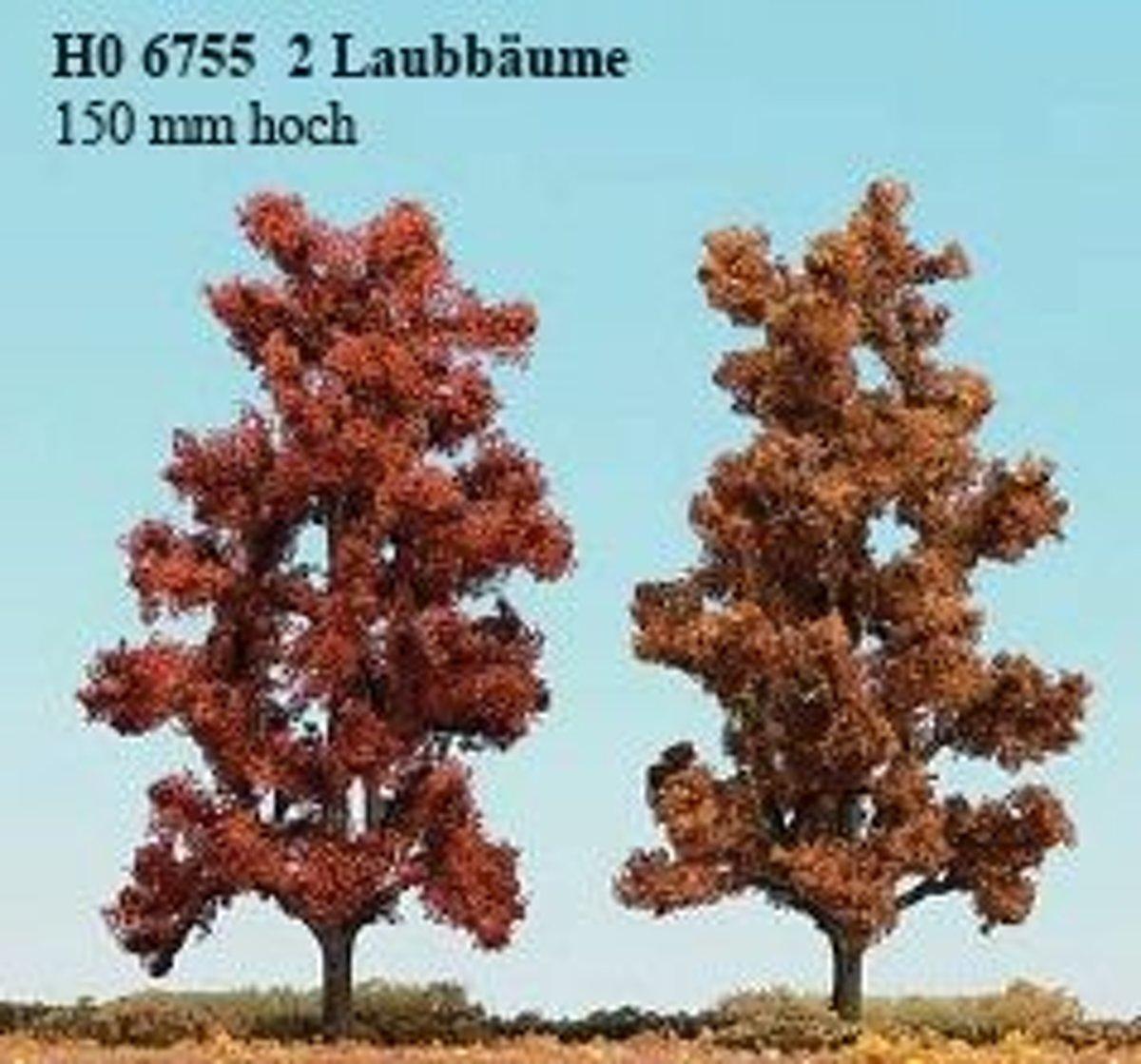 Busch - 2 Laubb�ume 150 Mm, Herbstrot (Bu6755)
