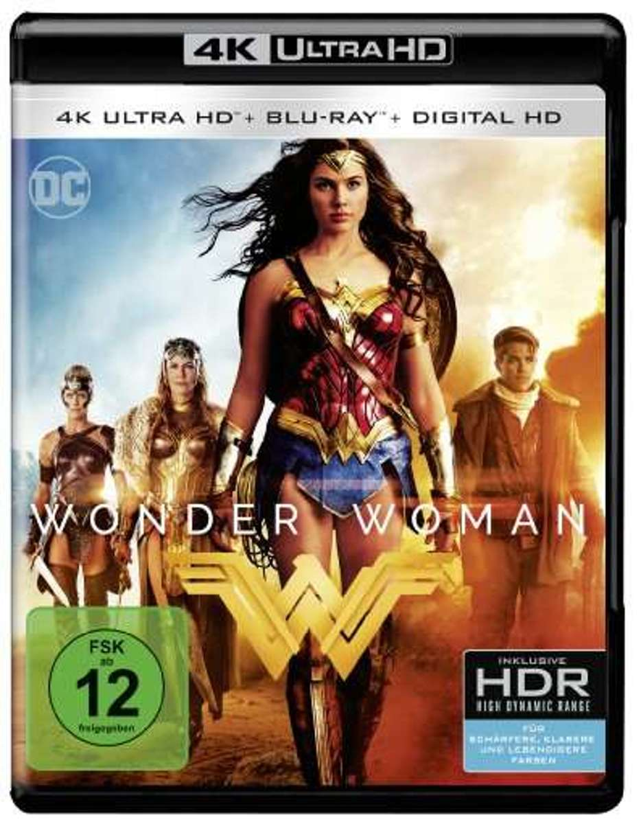 Wonder Woman (Ultra HD Blu-ray)-