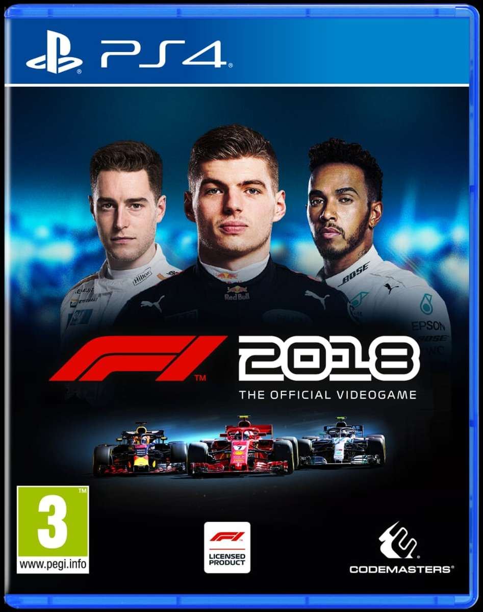 Formula 1 F1 2018 PlayStation 4