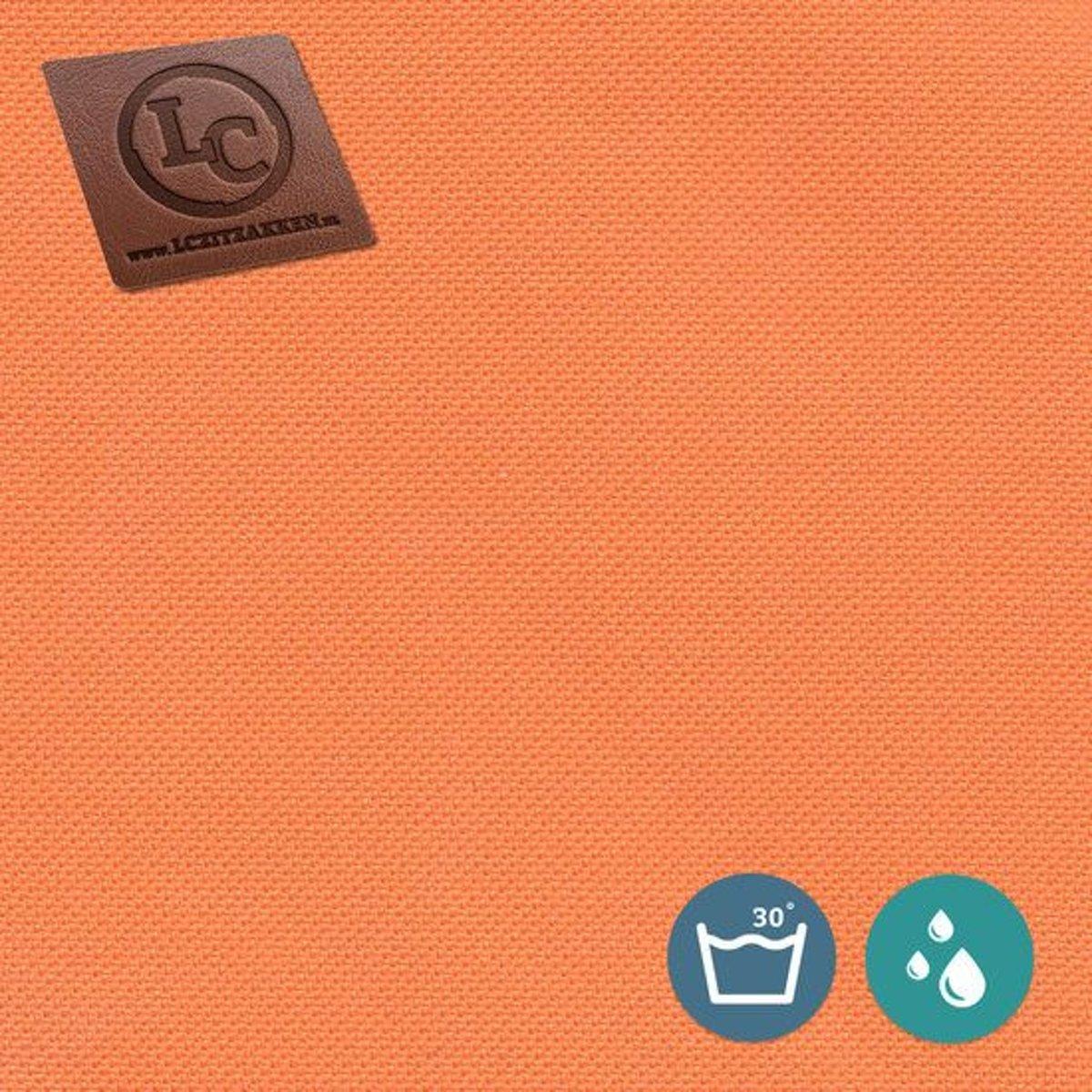 LC Zitzak hoes Nice outdoor oranje - Wasbaar - Geschikt voor buiten kopen