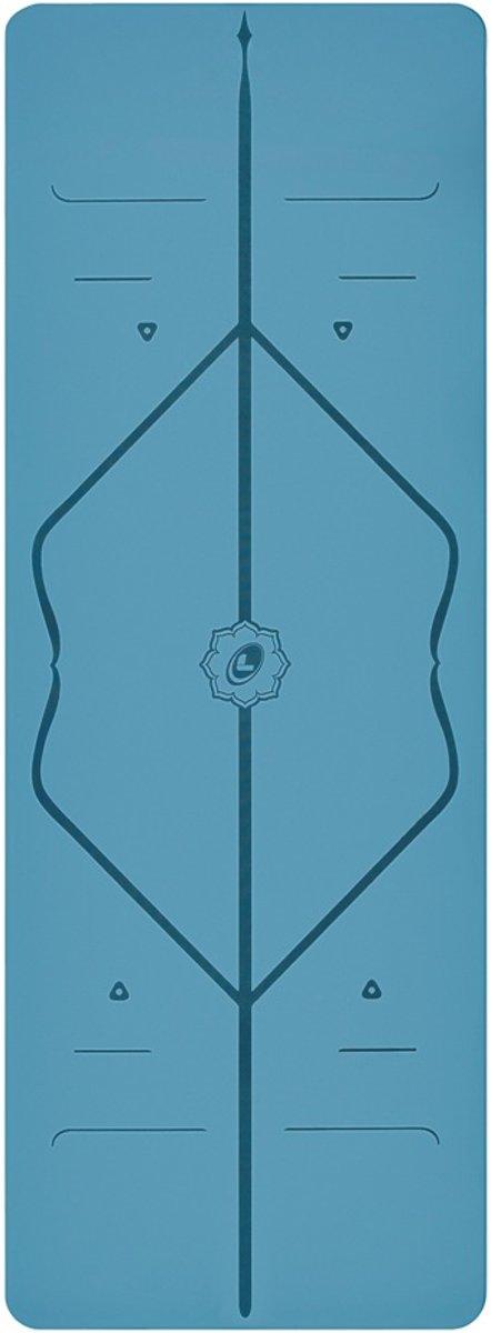 Liforme Yoga mat blauw kopen