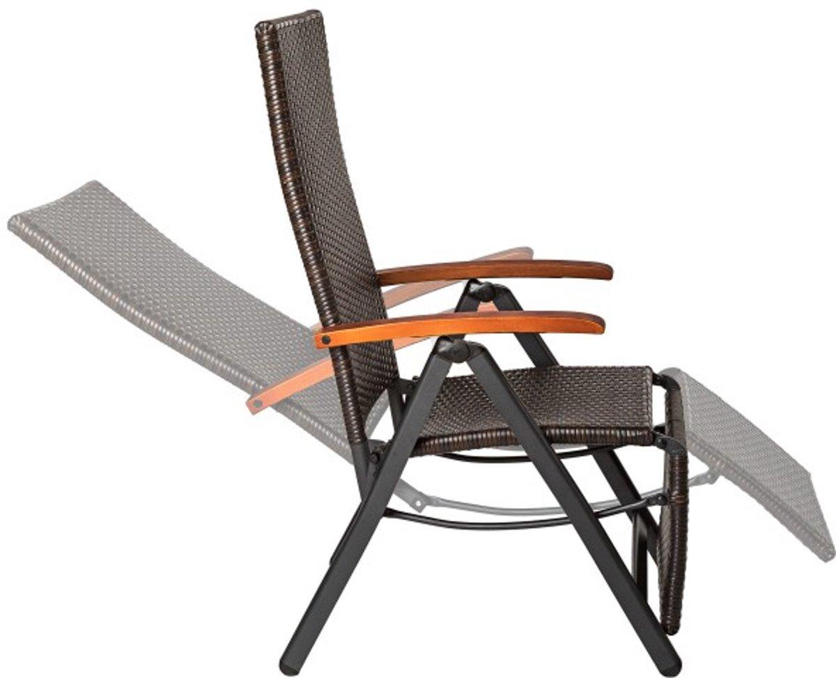 Verstelbare relaxstoel prachtig tuin relaxstoel for Relax stoel