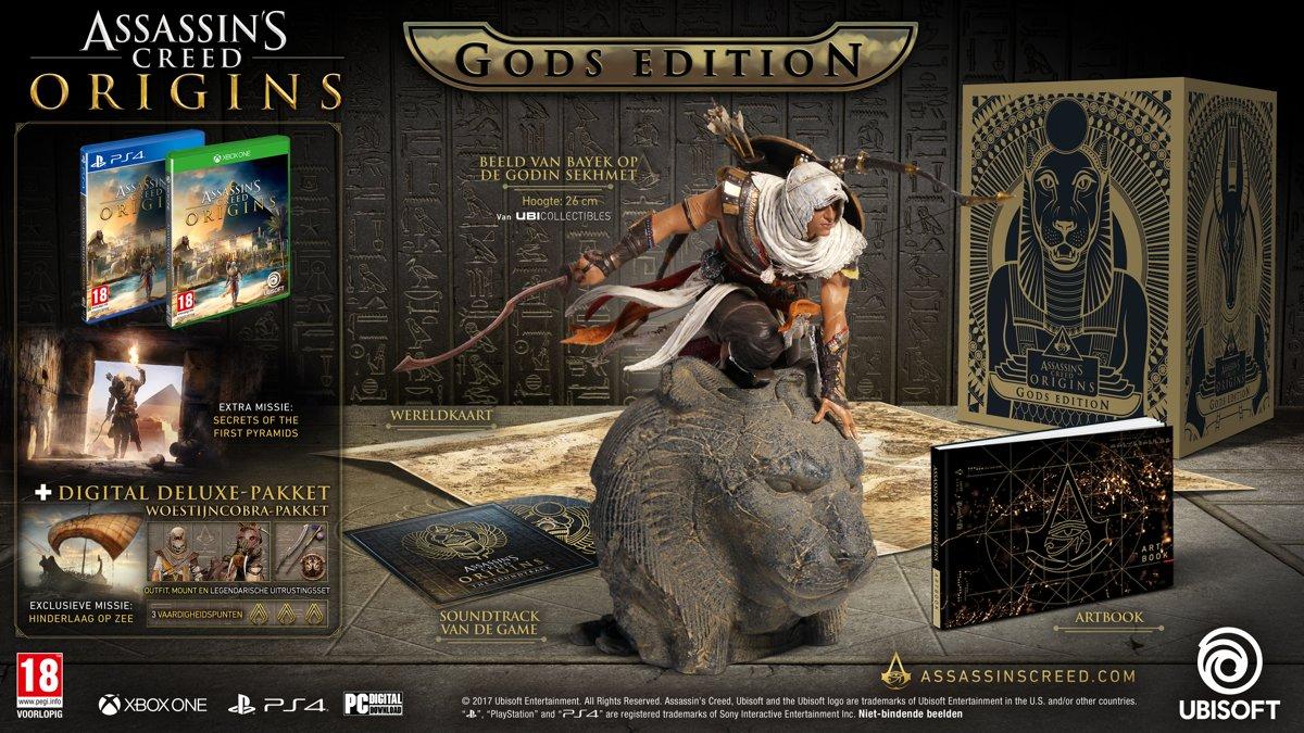 Assassin's Creed: Origins - Gods Edition PlayStation 4