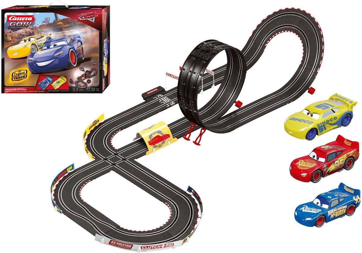 Carrera GO!!! Cars 3 met 3 auto?s Bundelpack - Racebaan