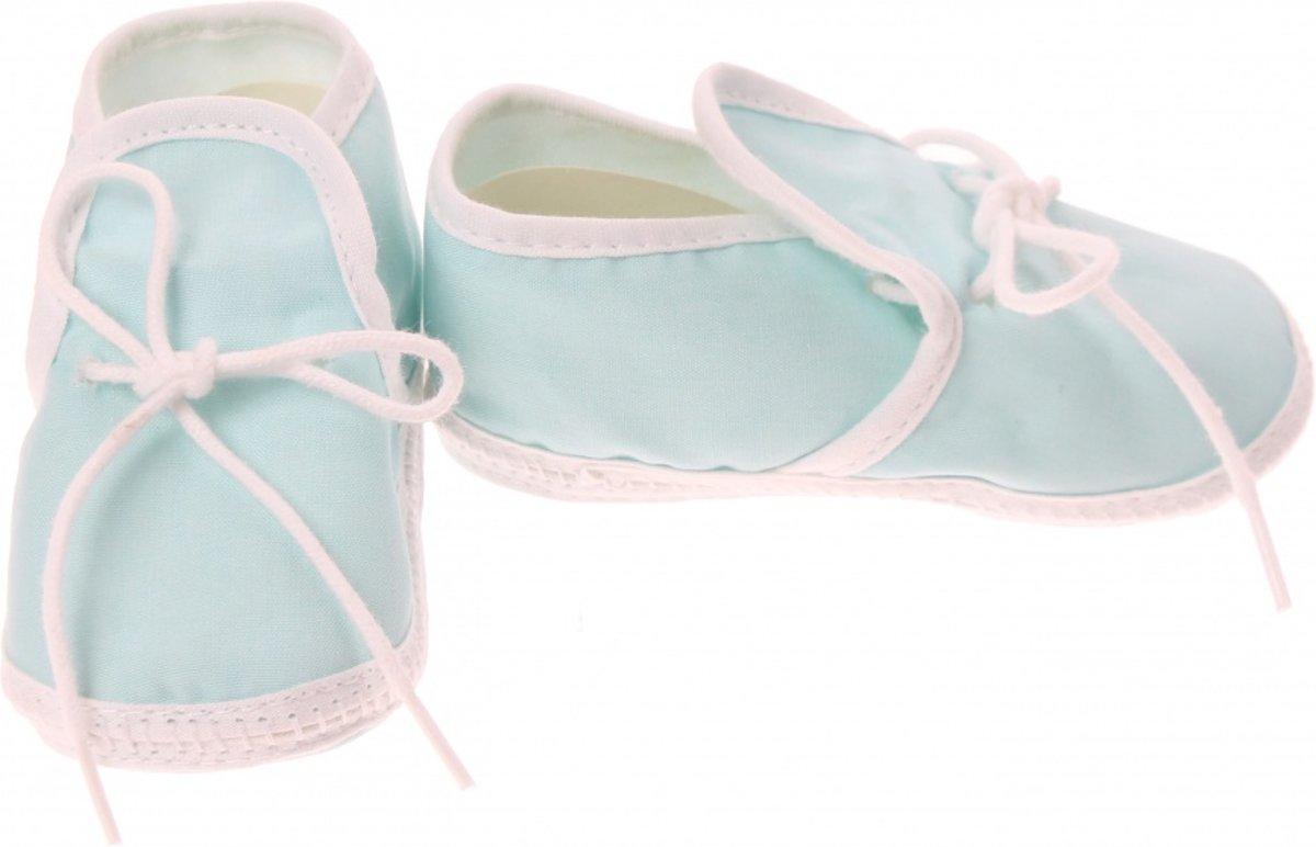 Junior Joy Babyschoenen Newborn Junior Turquoise kopen