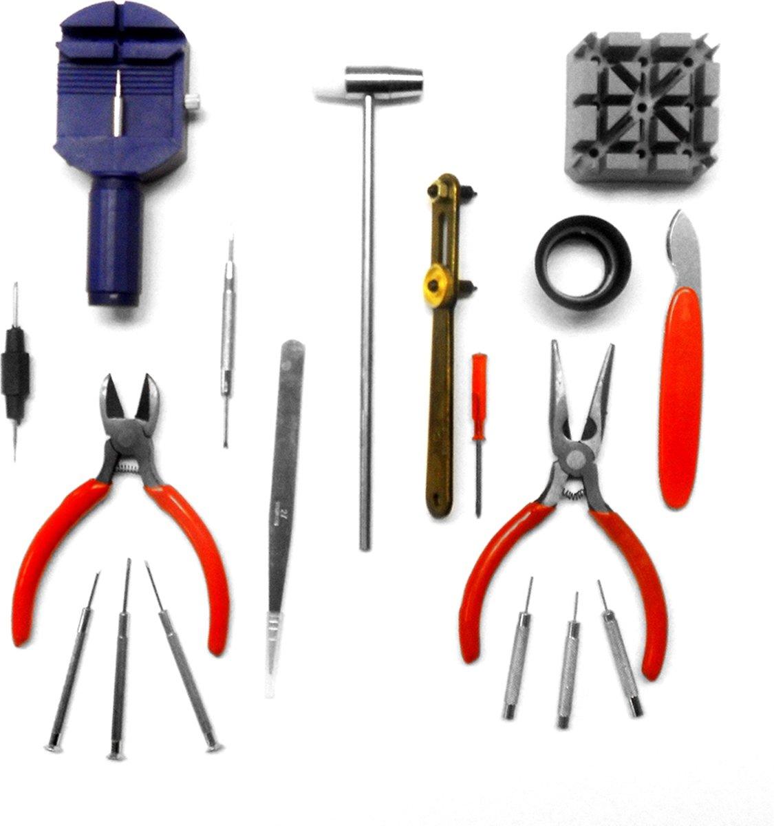 Horloge Gereedschapset 818200381 Reparatie Set / Toolkit voor Horloge Reparatie - 18 delig kopen