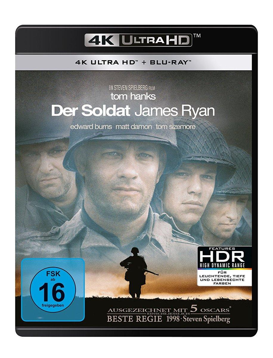 Saving Private Ryan (1998) (Ultra HD Blu-ray & Blu-ray)-